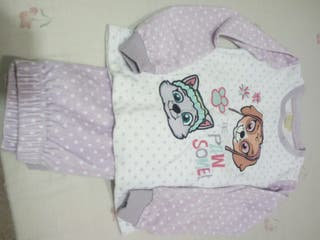 Pijama niña Patrulla Canina talla 7-8