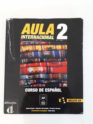 Aula 2, libro para aprender español