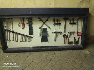 armario de herramientas heco