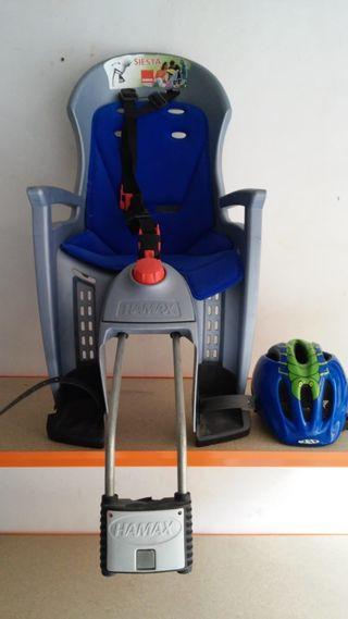 silla niño para bicicleta