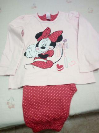 Pijama Minnie talla 5-6