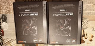 Ventiladores be quiet Silent Wings 3 140mm PWM