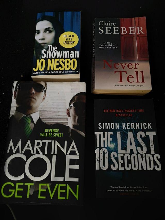 Thriller/Horror Books (4)