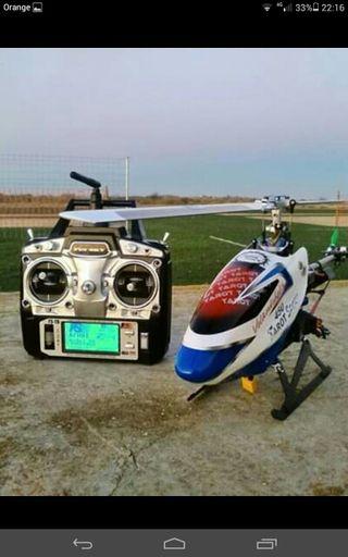 Emisora FlySky FS-T6 para Dron,helicoptero y avion