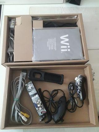 Consola wii con caja