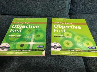 Libros inglés Objective First Cambridge Nivel B2