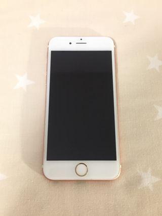 iPhone 6s rosa 64 GB sin auricular