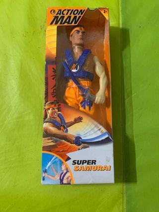 Action Man Súper Samurai 1997 nuevo