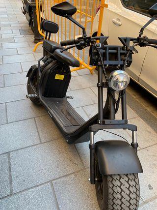 Citycoco, Scooter, Moto eléctrica