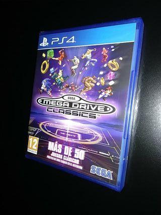 Juego PS4 MEGA DRIVE CLASSICS PAL España Nuevo!!