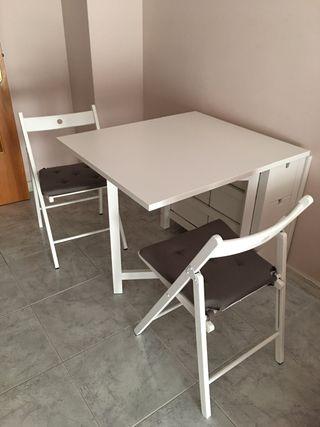 Mesa abatible cocina de segunda mano en Barcelona en WALLAPOP