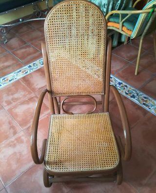 Mecedoras Thonet asientos rejilla nuevos
