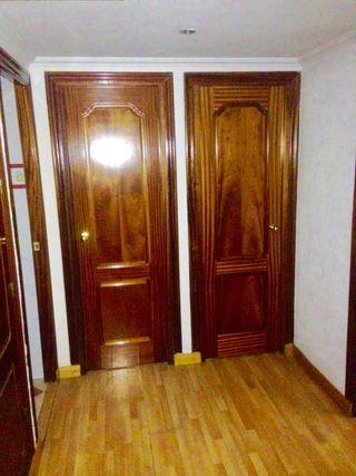 Puertas de paso, madera maciza