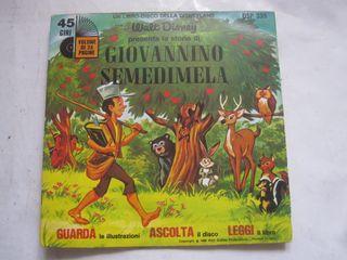 disco single cuento Giovannino Semedimela vinilo
