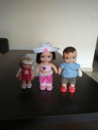 3 muñecos barriguitas