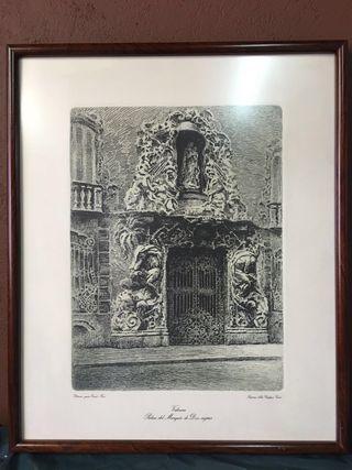 4 Grabados de Ernest Furio cuadros