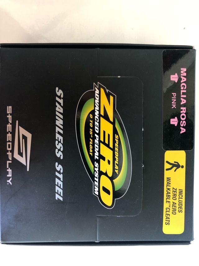 Pedales Speedplay Zero stainless