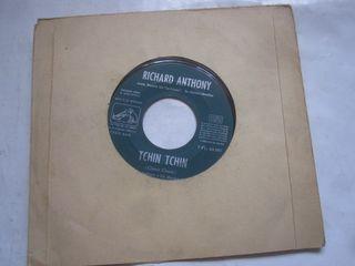 disco single vinilo Richard Anthony Tchin Tchin