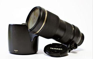 Objetivo Tamron AF 70-200mm f/2.8 Di Macro Nikon