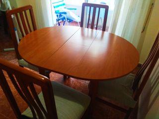mesa salón convertible