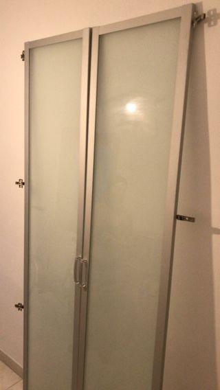 Puertas de armario acristaladas