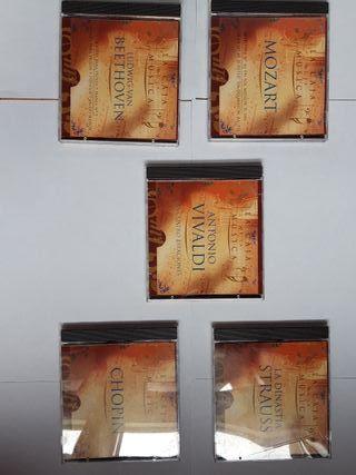 """5 discos de """" La caja de la musica"""""""
