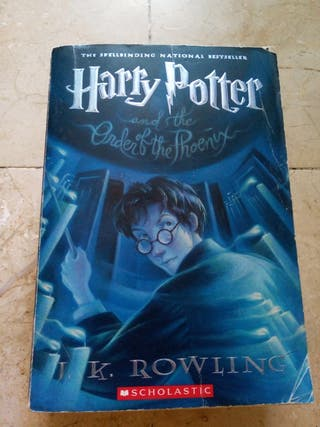 book Harry Potter and the order of Phoenix 5