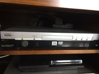Aparato reproductor y grabador de dvd