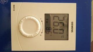 Termostato digital SIEMENS RDH10 dos hilos