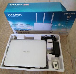 TP-LINK Módem Router VDSL/ADSL Gigabit Inalámbrico