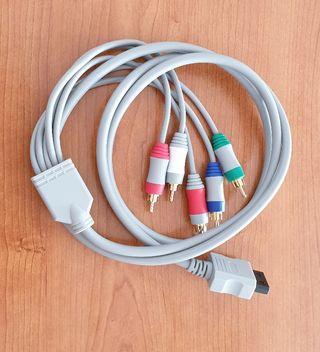 cable de componentes para wii