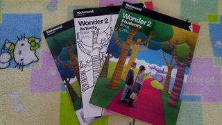 Libros de inglés 2 Primaria.