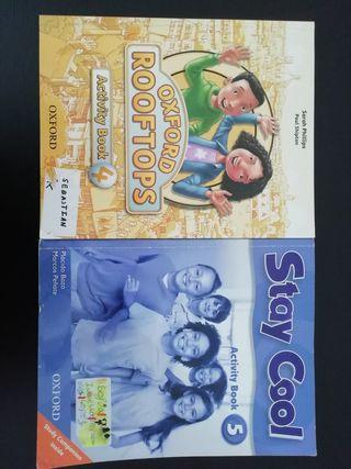 libros escolares ingles