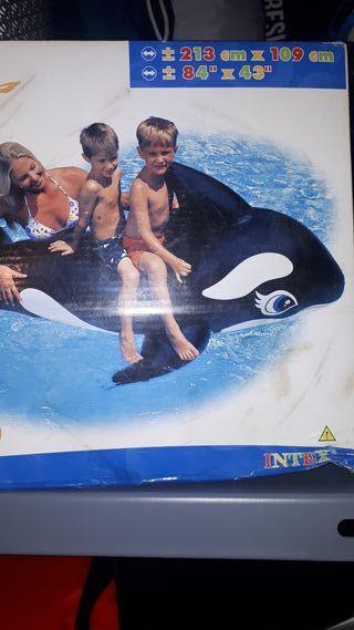 Flotador ballena