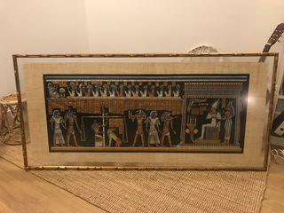 Marco para cuadro - Cuadro Egipcio - 188x89cm