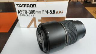 Objetivo AF70-300mm F/4-5.6Di LD MACRO 1:2