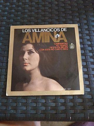 Disco vinilo Los villancicos de Amina