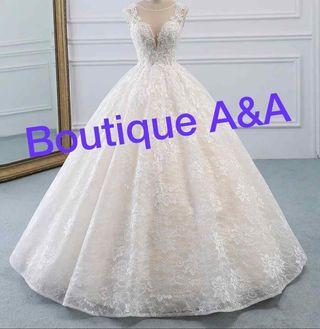 Vestido de novia nuevo modelo