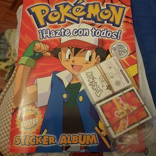 Colección completa cromos de Pokemon