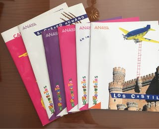 Libros proyectos infantil Anaya