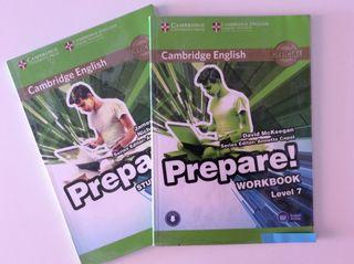 Libro de texto, Inglés Level 7, B2