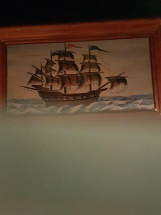 cuadros barcos