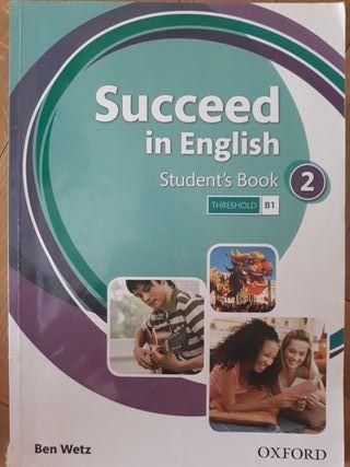 Libro de texto Inglés Succeed in English B2