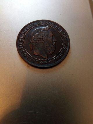 Moneda Antigua 1875