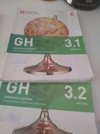 libro de geografía e historia 3 eso