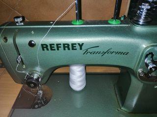 máquina coser refrey eléctrica o manual