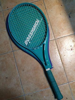 raqueta de tenis rossignol