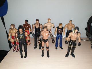 Muñecos WWE de lucha