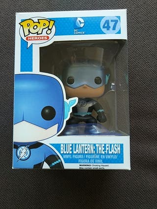 Pop! Blue Lantern: The Flash (metallic)