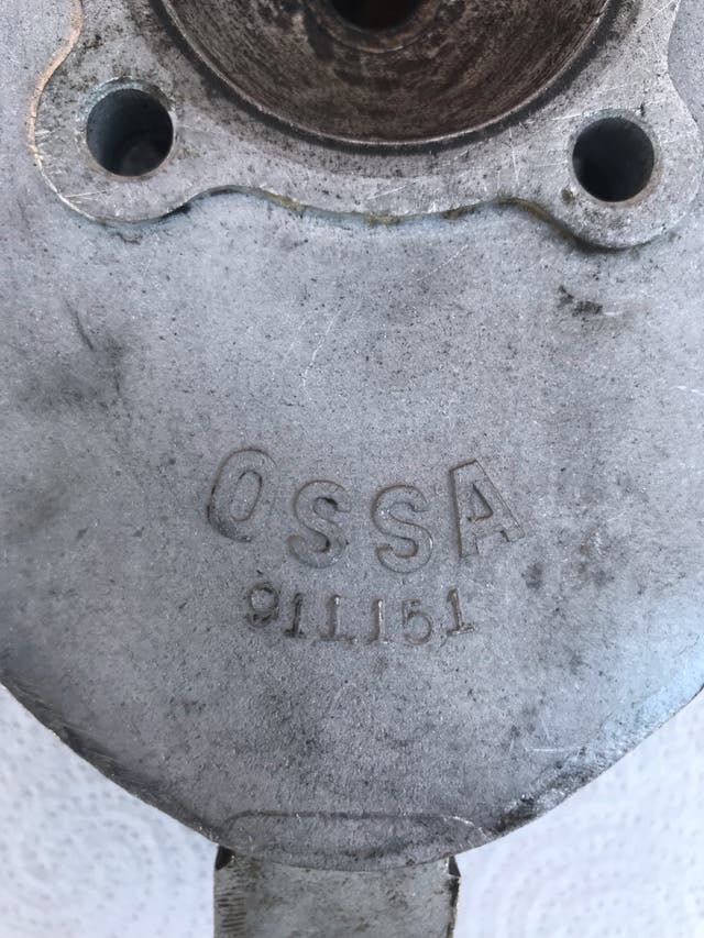 Culata cilindro OSSA 125